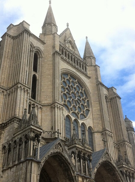 cathedrale chartres rosace transept sud 40