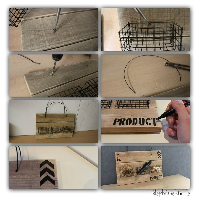 INDUSTRIEL DECO DIY