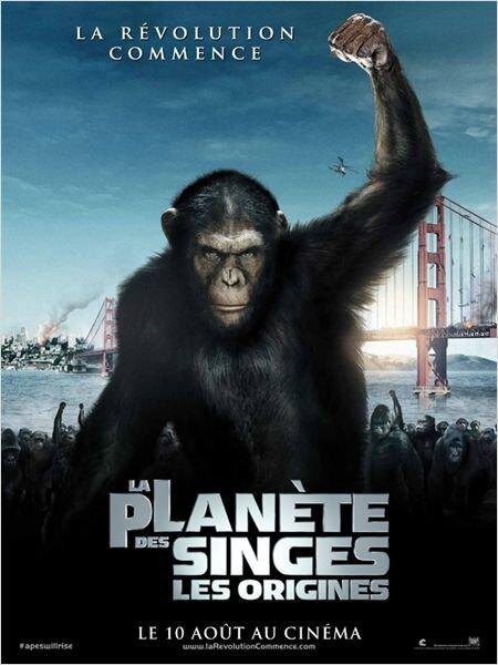 La planète des singes les origines