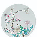 A magnificent famille rose charger, yongzheng six-character mark and of the period (1723-1735)