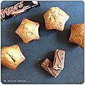 Le goûter du mercredi... des muffins au mars...