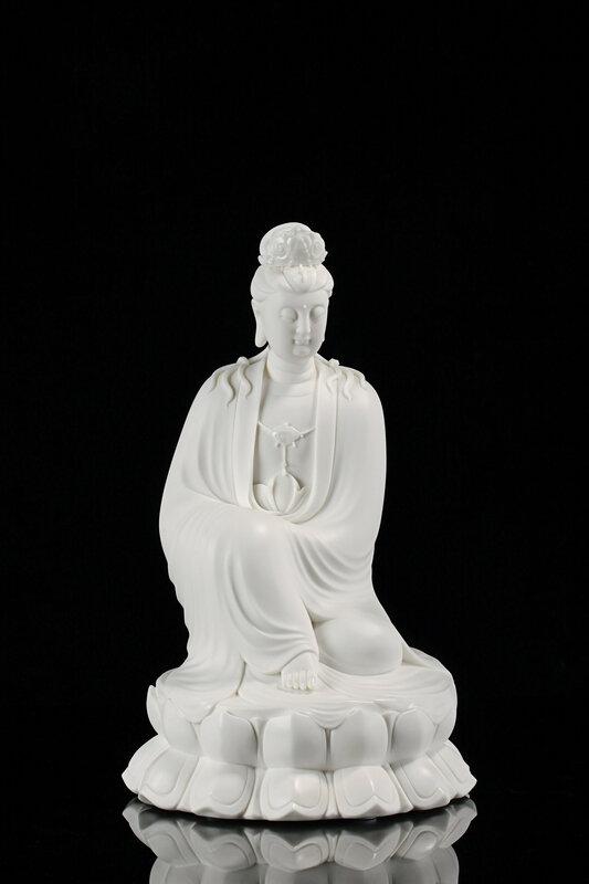 Guanyin,Li Jinfeng,18 x 18 x 31 cm,2018