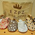 Eazy peasy: collection de chaussons eté 2015