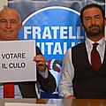 Les frères d'italie appellent à