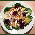 Salade d'hiver très sympa!