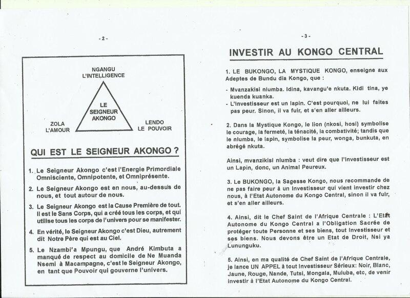 INVESTIR AU KONGO CENTRAL b