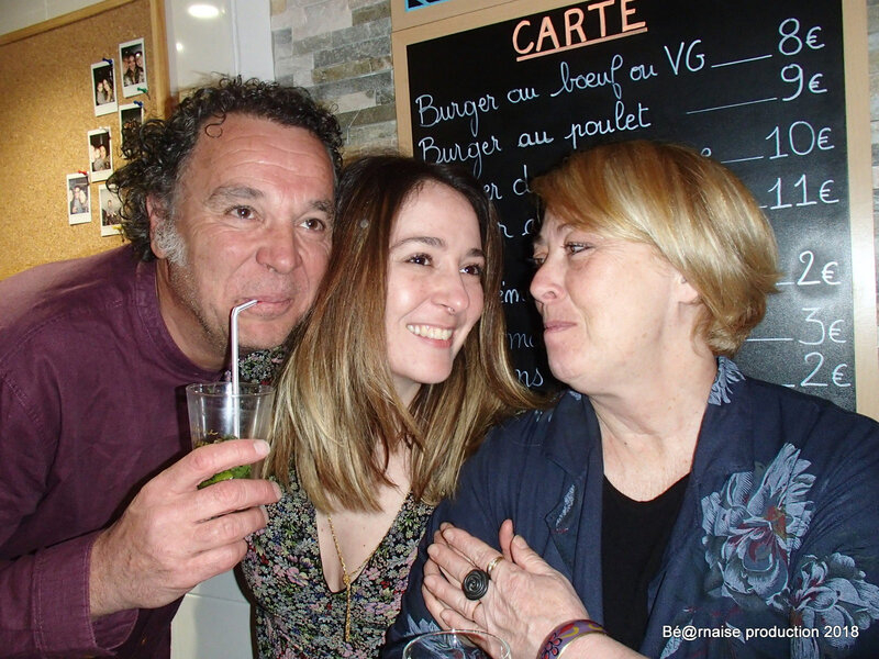 Papo et parents