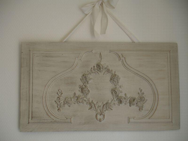 Décoration d'un ancien lit ficelle et bronze