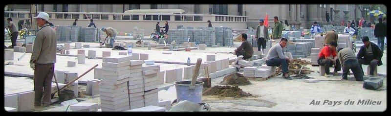 Jiefangbeilu en rénovation