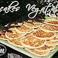 ~~ pancakes végétaliens (allergiques) ~~