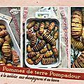 Pommes de terre pompadour à la suèdoise, lard & champignons