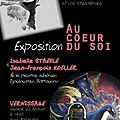 Strasbourg du 22 février au 14 mars 2014: exposition au coeur du soi, avec les oeuvres de d. boïtounov, i. staehle et jf koeller