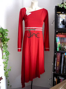 Robe bambou rouge