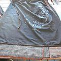 Robe rapide à partir d'une jupe et d'un débardeur : merci chèresloques !