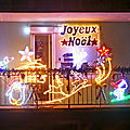 Belfort, illuminations balcon rue de bavilliers