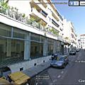 Marseille simply market tout en camions dans le carré d'or
