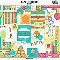 Dunia designs - happy birthday