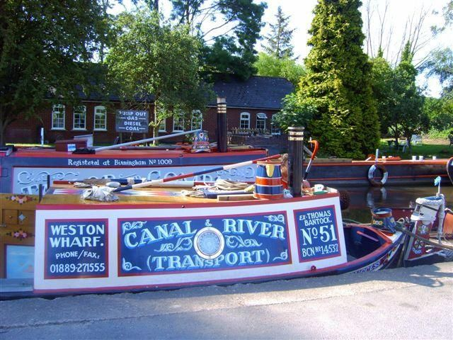 Canal and river boat