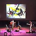 Alexandre varlet, résidence au théâtre national de mâcon, octobre 2002
