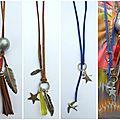 Petits bijoux faits main : les sautoirs du chouette kit