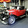 Riley nine sport's 2 places de 1929 (RegioMotoClassica 2011) 01