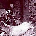 08 - 0215 - le dernier cochon tué au village - 1970 12 29