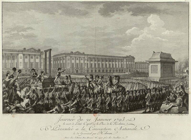 tete de Louis XVI guillotine