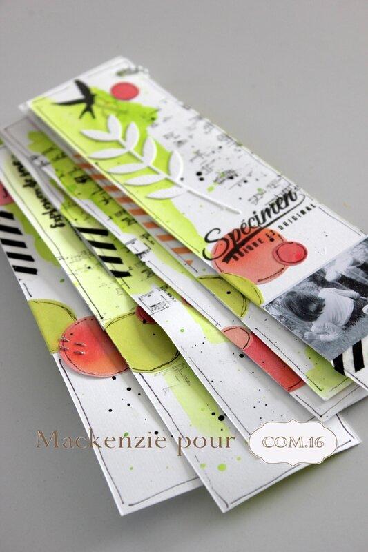 Mackenzie - DT com16 - mini album - marque page-printemps2