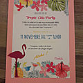 Anniversaire tropic'chic : la party