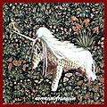 La licorne , à mon seul désir.....