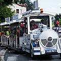 14-15, La fête en Rouge et Noir, le petit train