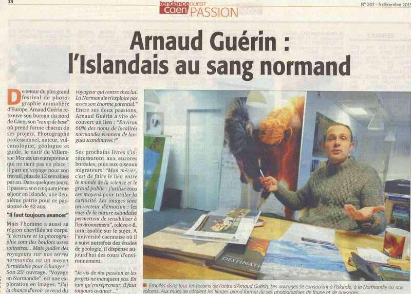 Arnaud Guérin explorateur normand