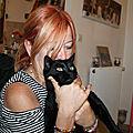 Patricia et le beau Léo