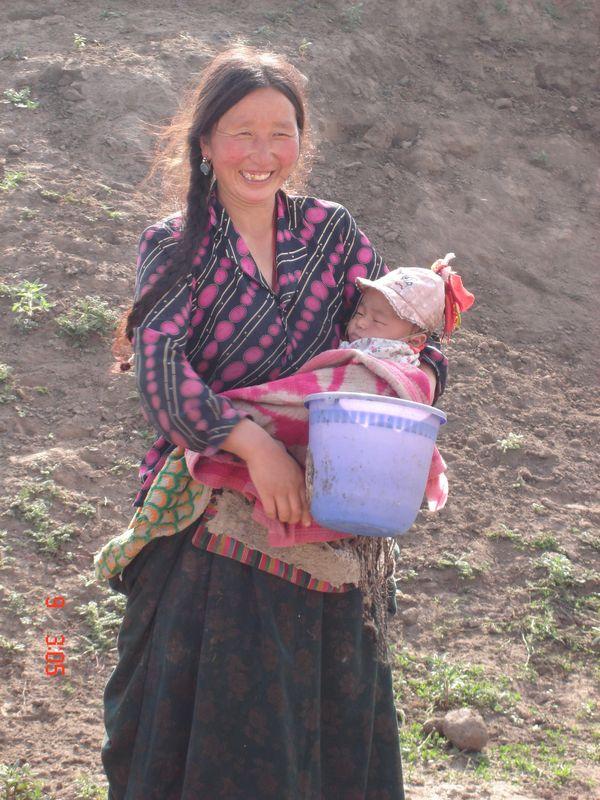 dans les steppes du tibet