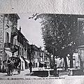 Morestel - place des halles datée 1989