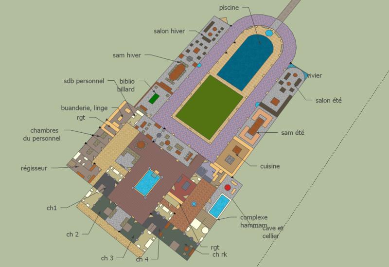 Construction D Une Villa Romaine Au Maroc