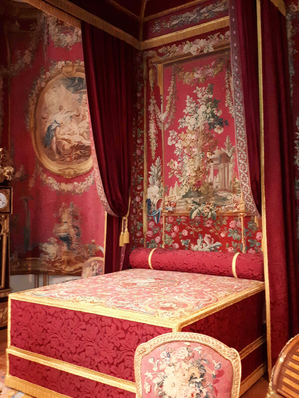 le nouvel aménagement de la chambre du duc de Chevreuse - Département des Objets d'art du Louvre