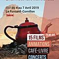 Le festival du film d'aventure vécue se déroulera au coeur du village du fontanil-cornillon