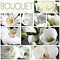 Bouquet en vert et blanc 2