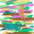 05.Et Toison-sur-le-sommet partit chercher une grande quantité de lianes. Il ordonna à Grand-monstre de se coucher et lui attacha les pattes de derrière. - Détache-toi maintenant !