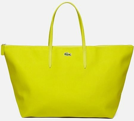 lacoste sac shopping anis