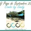 Défi page de septembre 2016 - pages de ciléa, claire m, baobab et de notre seconde invitée d'honneur