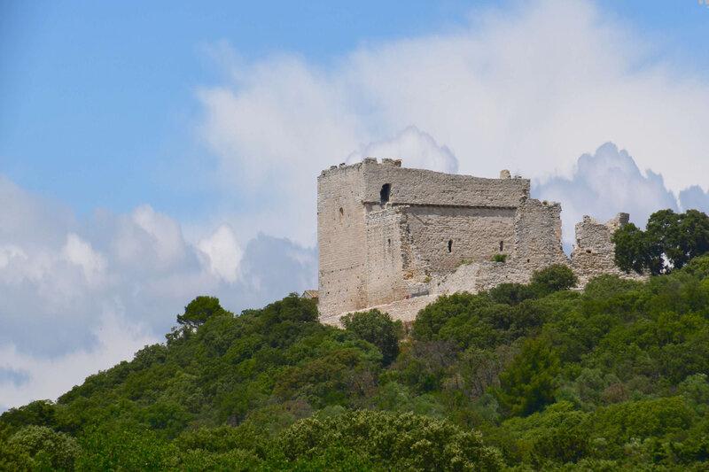 Le château du Thouzon : hommage aux bénévoles