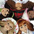 L'histoire et l'évolution des poupées maru & friends
