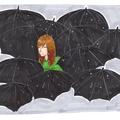 Dans la mer de parapluies...