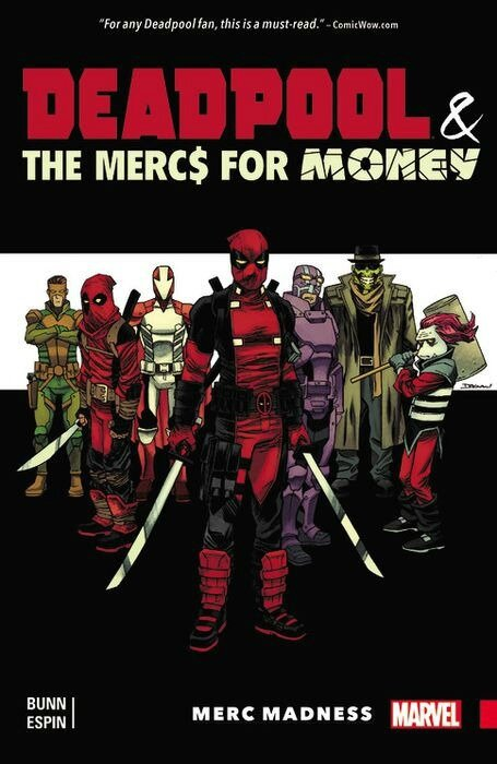 deadpool & the mercs for money vol 00 merc madness TP