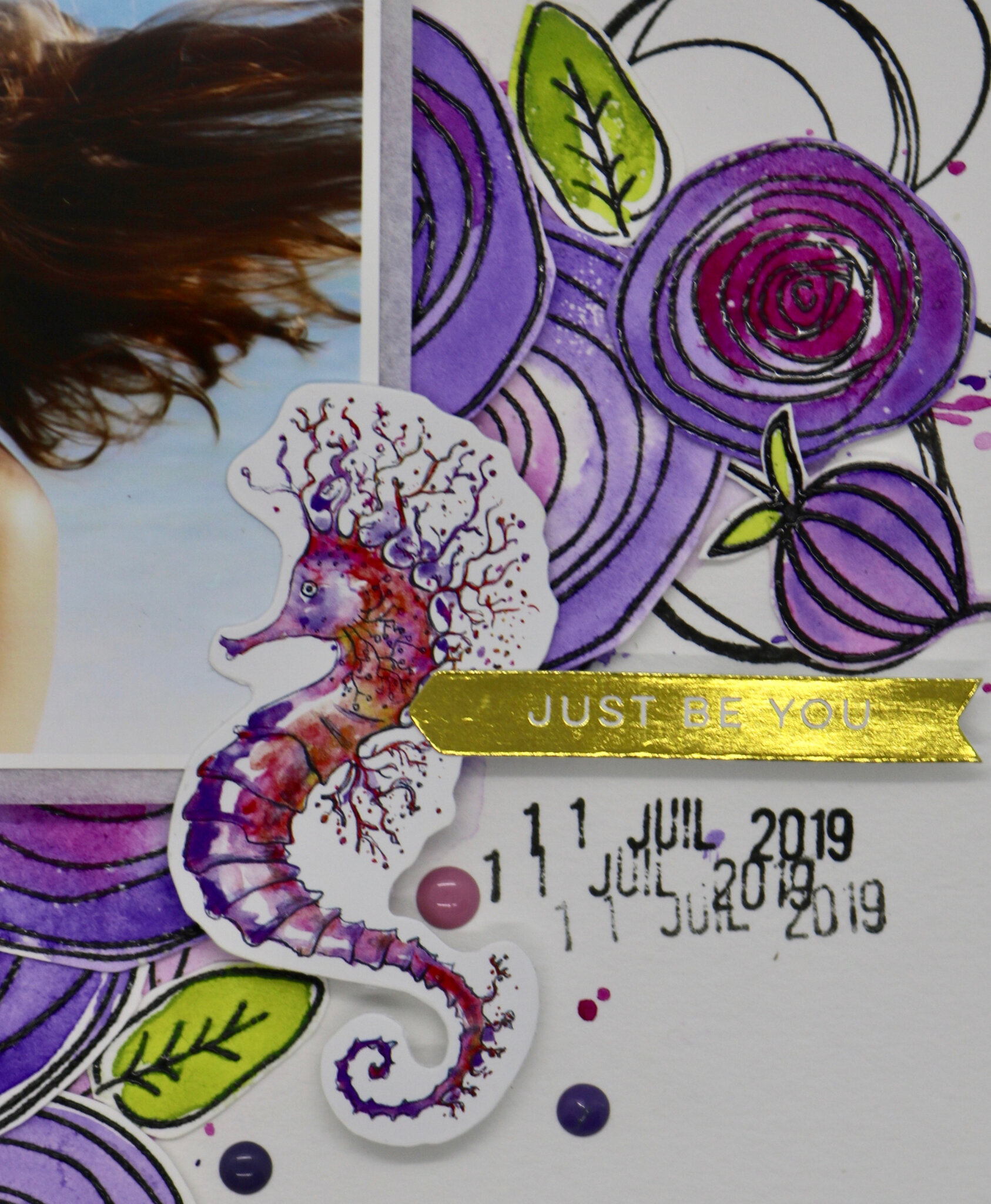 """Challenge S264 - DT 52 RSC (inspiration -""""JUST BE YOU"""")"""