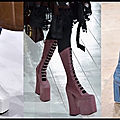 Platform boots - platform shoes - les horribles diktats de la mode !