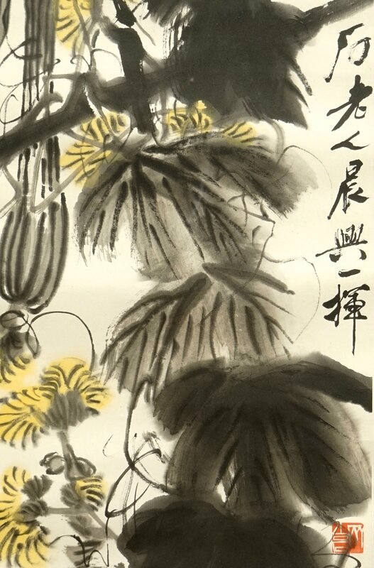 qi-baishi-1864-1957-long-melons-and-their-vines-ink-and-colour-on-paper-3