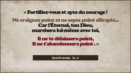 Fortifiez-vous et ayez du courage(13)